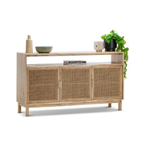 Atlanta Rattan & Mindi Wood Sideboard Buffet